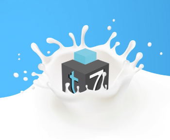 Motion Graphic Teseo7 Milk