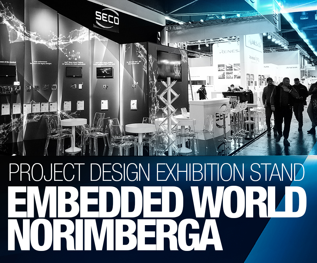 SECO – stand EMBEDDED WORLD Norimberga